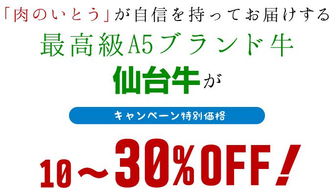 キャンペーン特別価格10〜20%OFF